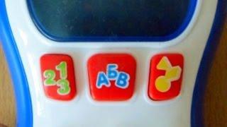 Видео обзор детская игрушка - Телефон АЛЛО. Сотик Tongde (kidtoy.in.ua)(Заказать: https://vk.com/photo-47667519_303504167 Tongde Телефон звук (рус), свет, на батарейке, в коробке Длина: 12.5 см. Ширина:..., 2014-12-21T20:46:01.000Z)