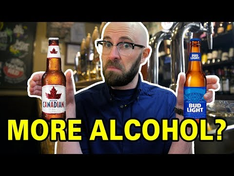 Does Canadian Beer Really Contain More Alcohol Than Beer Made In The United States?
