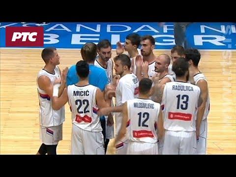 Košarka Srbija Estonija 9165 Najzanimljiviji Trenuci Utakmice