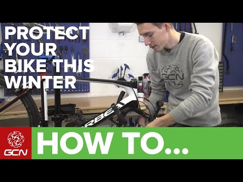 5 Ways To Protect Your Bike From Winter
