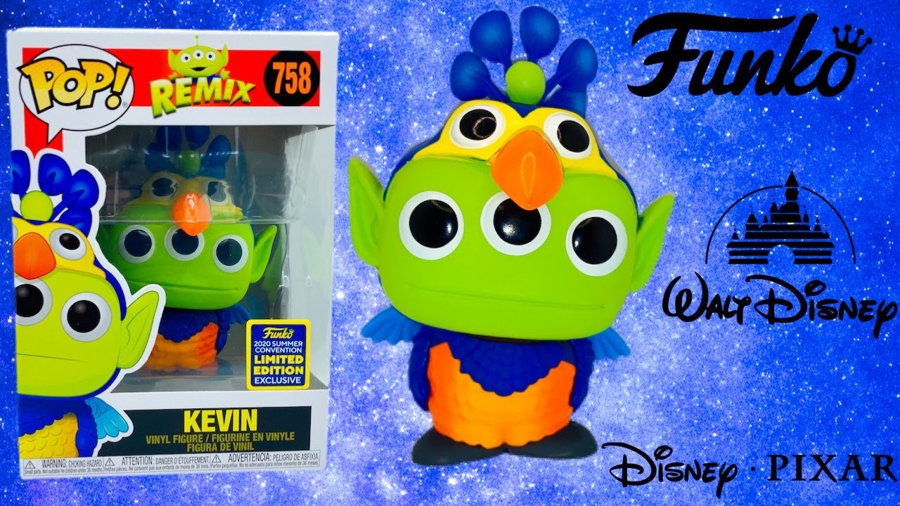 Disney Pixar Alien Remix-Up-Kevin Funko POP SDCC 2020 Précommande