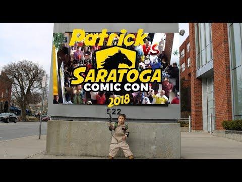 Patrick Vs.  Saratoga Comic Con (Spring 2018)