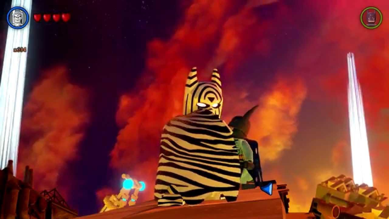 LEGO Batman 3: Beyond Gotham - Zebra Batman Gameplay ...