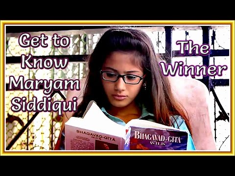 GET TO KNOW THE 'GITA GIRL' MARYAM SIDDIQUE