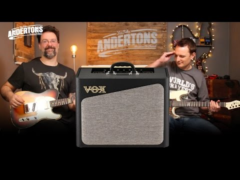VOX AV Guitar Amp Demo - No Modelling, Just Straight Up, Affordable, Great Tone!