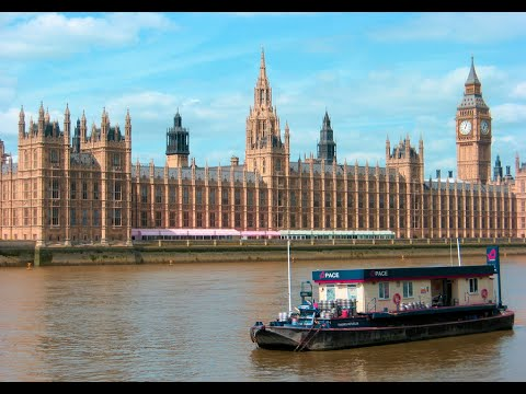 Visiting Palace of Westminster, Building Complex in London, England