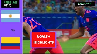 Colombia vs. Argentina 2-0 All Goals & Highlights | Copa América 2019
