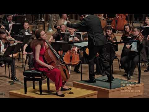 Anastasia Kobekina's Final Round at the 2018 Schoenfeld International String Competition