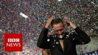 US election 2016: Which Republican won the night? BBC News