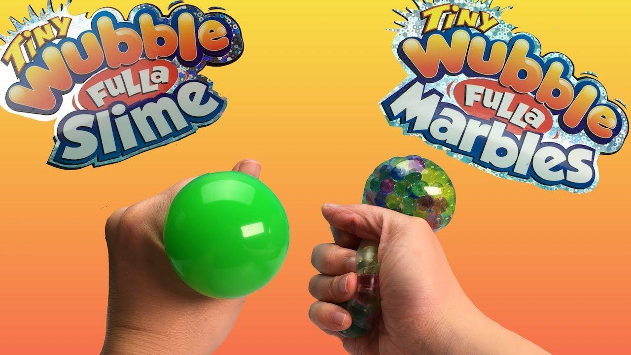 Wubble Fulla Marbles y Slime versión tiny en Español Slime y Orbeez en pelotas Squisy
