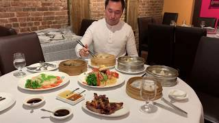 Chinese Food At Tri Dim Shanghai In New York City