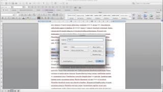 Word 2011: Cómo Crear Tabla de Contenido, Lista de Figuras y Lista de Tablas