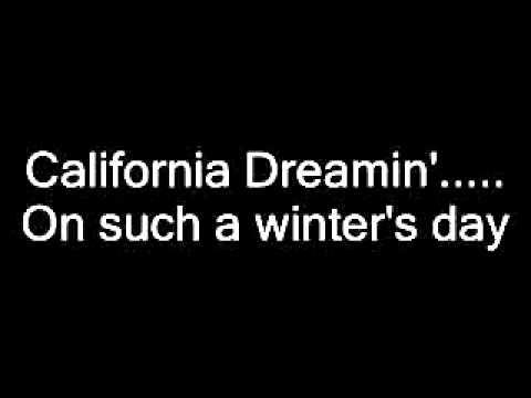 The Mamas & The Papas - California Dreamin' Lyrics