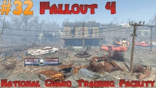 Let s Play Fallout 4 - National Guard Training Facility Ep 32