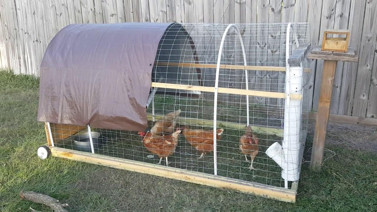 Chicken tractor design / My backyard chickens - Chicken Tractor Design / My Backyard Chickens - YouTube