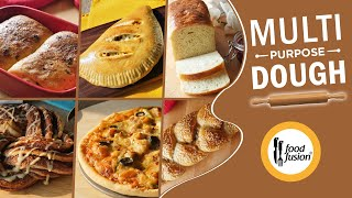 Multi-Purpose Dough (Without egg)  Recipe By Food Fusion