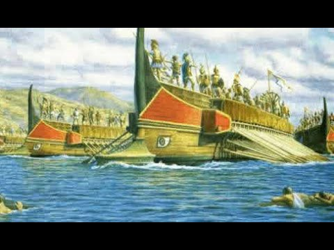 The Battle of Salamis (The Histories of Herodotus Excerpt)