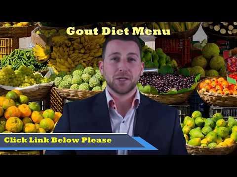Gout Diet Menu - Diet For Gout: Gout Diet - YouTube