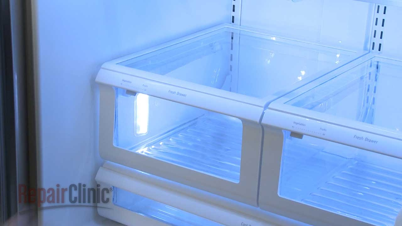 Frigidaire Refrigerator Crisper Drawer Replacement 241801802 Youtube