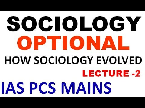SOCIOLOGY OPTIONAL | UPSC/STATE PCS/ UPPSC | LECTURE 2 | SOCIOLOGY - THE DISCIPLINE | COMMON SENSE