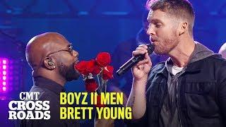 Download lagu 'I'll Make Love To You' by Boyz II Men & Brett Young | CMT Crossroads