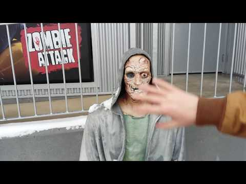 New Zombie Attack On Clifton Hill Niagara Falls Canada Inside And Outside Views Youtube