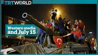 Western media and Turkey's 15 July coup attempt