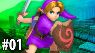 LET'S PLAY Zelda: Ocarina of Time Randomizer #1 — Link Gets a Massage