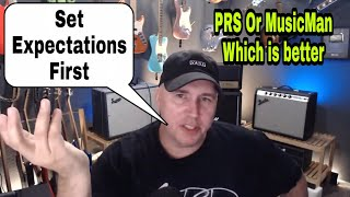 Q&A Live # 87 PRS Or Music Man Which is better?