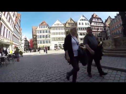 STREET VIEW: Altstadt von Tübingen in GERMANY