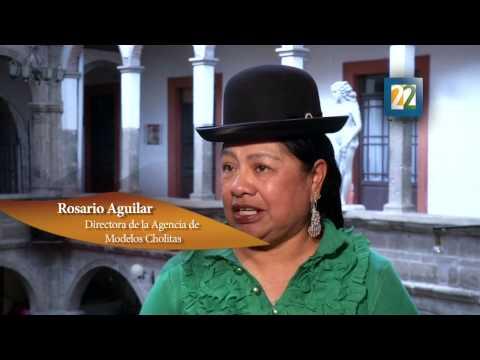 CUMBIA DE HOY - CHOLITAS MODELAN EN BOLIVIA
