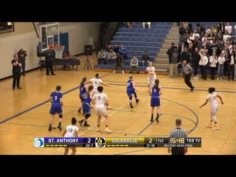 High School Girls Basketball: St. Anthony Village vs. DeLaSalle