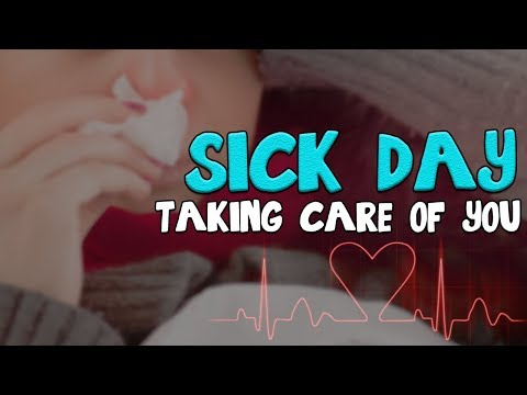 Sick Day - Loving Boyfriend Taking Care of You [Heartbeat & Rain Sounds]