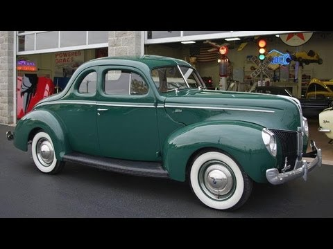 1940 Ford Business Coupe 221 Flathead V8 Youtube