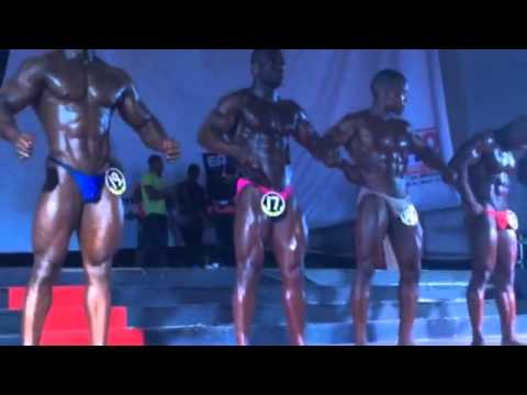 Angola Olympia 2014 Body building junior