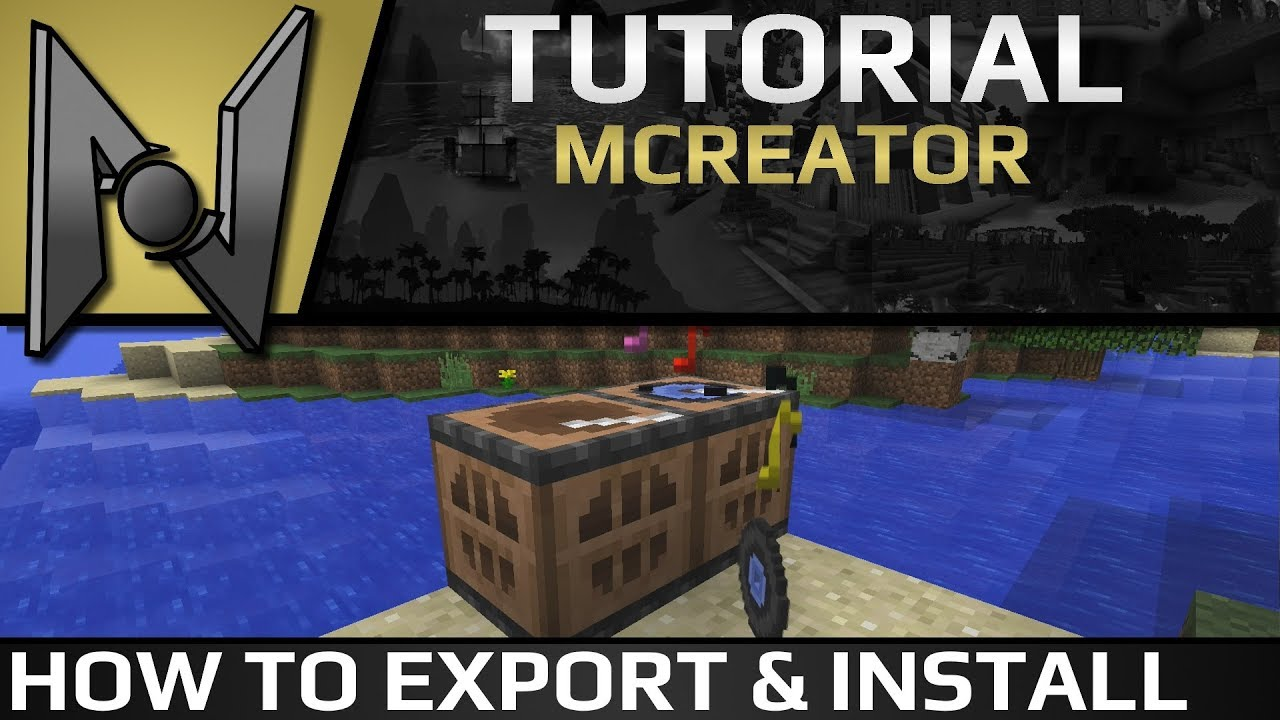 Exporting mods and installing them | MCreator