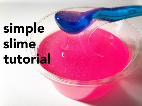 �MW�】シンプルスライム�作り方�simple slime tutorial】