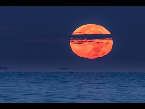 Supermoon 2016 - Moonset Time-Lapse