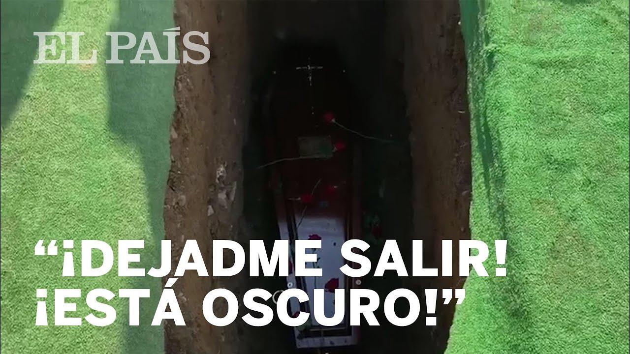 """""""¡DEJADME SALIR, ESTOY EN UNA CAJA!: La BROMA de un fallecido en su ENTIERRO"""