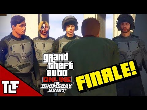 GTA V Online: The Doomsday Heist Act III Setups + Final Heis