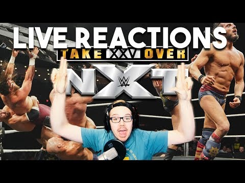 THIS IS AWESOME, BAY BAY!! | NXT TakeOver XXV - Live Reactions!!