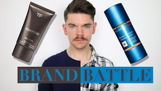 Tom Ford Bronzing Gel vs. Clarins Men Tanning Booster  | Brand Battle