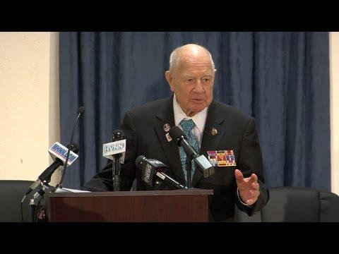 Senator Larkin:  Medal Presentation for Corporal John Ciardullo