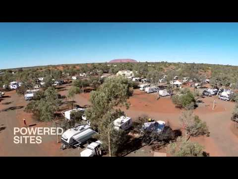Ayers Rock Campground Accommodation; Cabins, Powered and Non-Powered sites