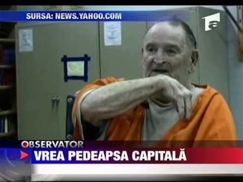 Vrea pedeapsa capitala Se crede prea vinovat 18 IUNIE 2010