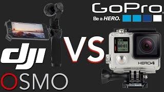 DJI OSMO vs. GoPro HERO 4 Black Edition   Der Vergleich   4K @ 25 fps Footage
