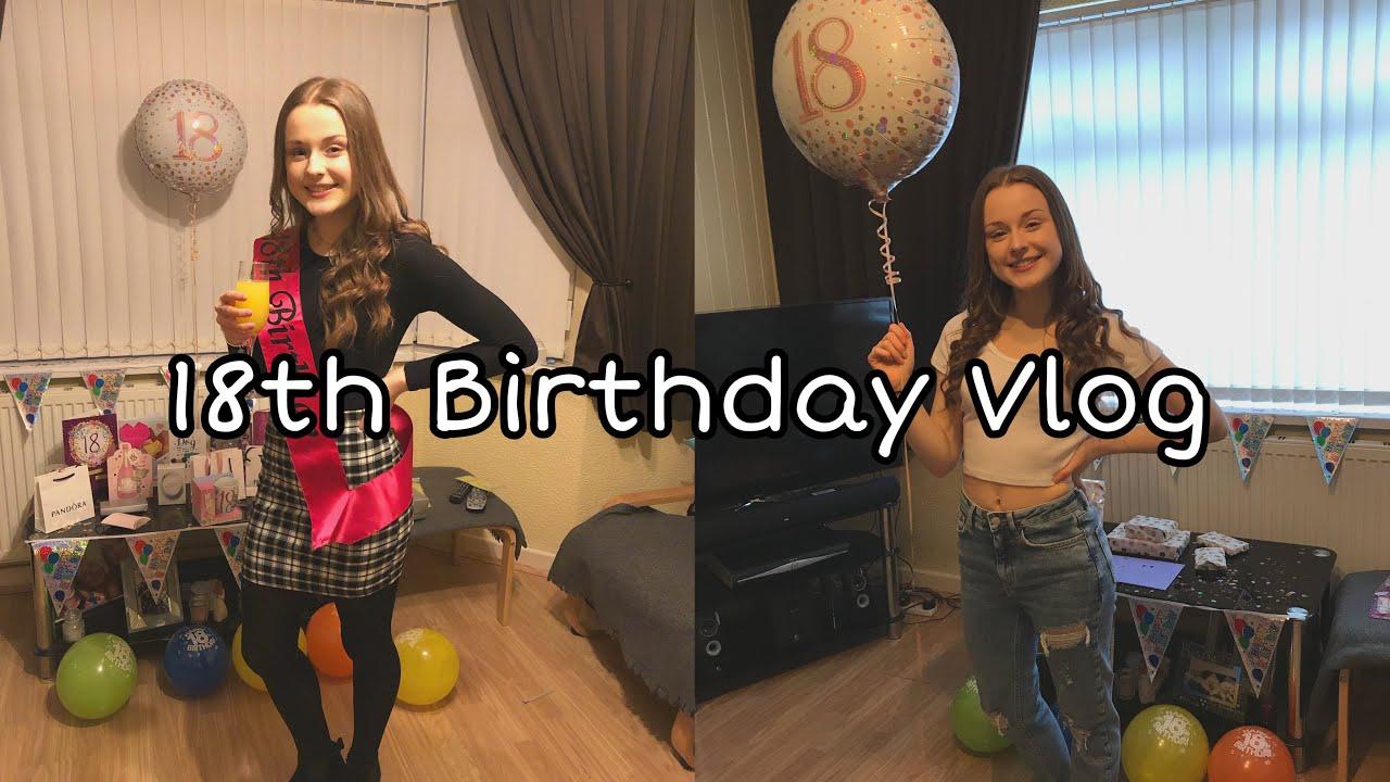 MY 18TH BIRTHDAY PHOTOSHOOT VLOG - YouTube