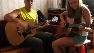 Песня-композиция в 2 гитары. Богена. В ХЛЕБНОМ ПОЛЕ ВАСИЛЬКИ. Игра в группе.