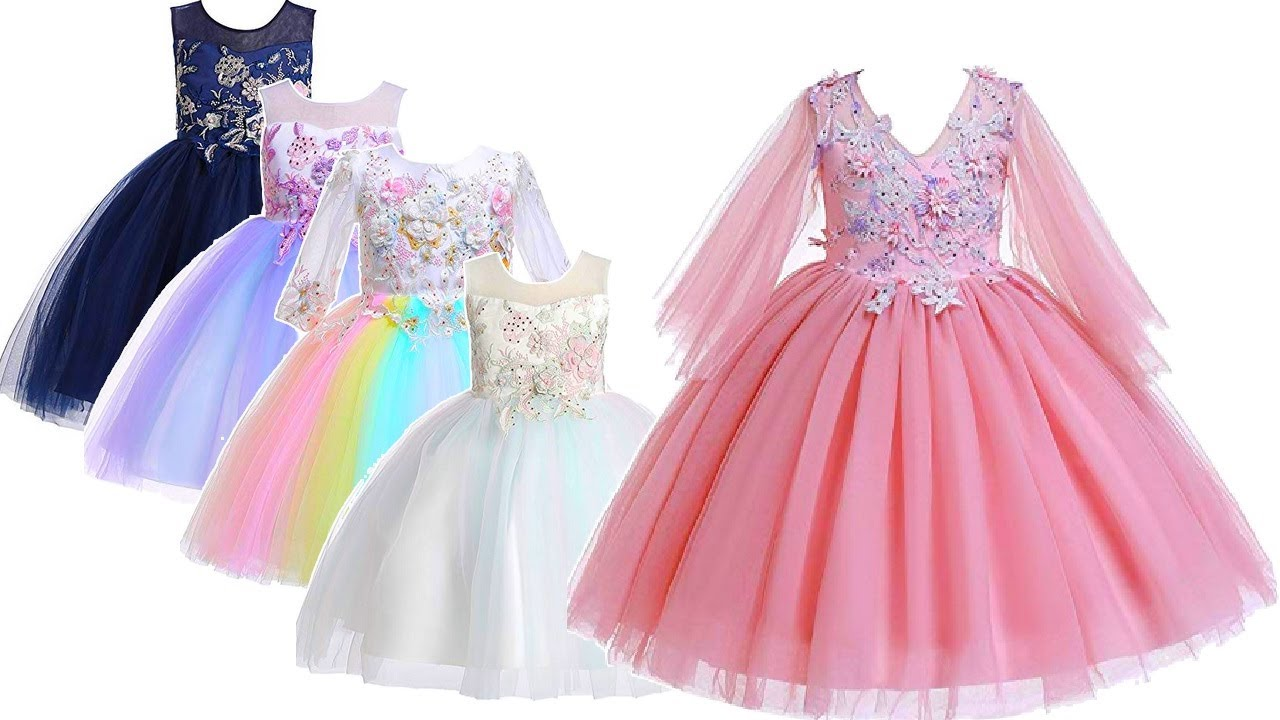 Wedding Party Dresses For Girls Kids 2020 Amazon Online Youtube