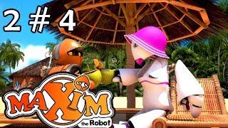 Maxim the robot: Action Platformer / World 2 - Level 4